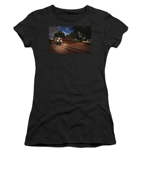 Union Pacific 7917 Train Women's T-Shirt (Athletic Fit)