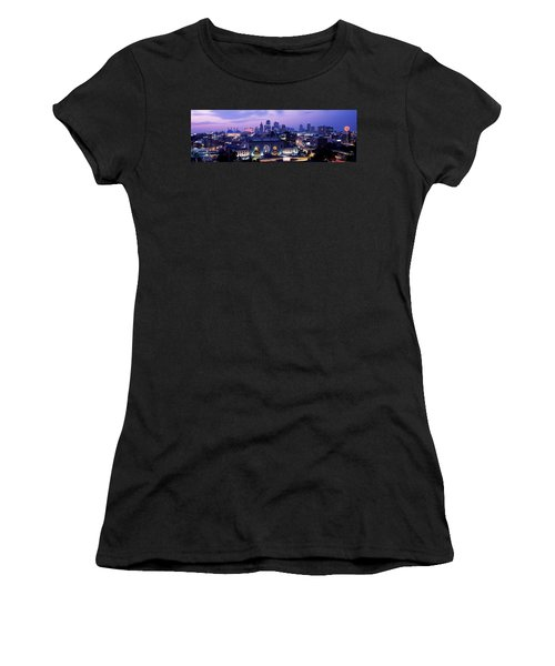 Union Station At Sunset With City Women's T-Shirt