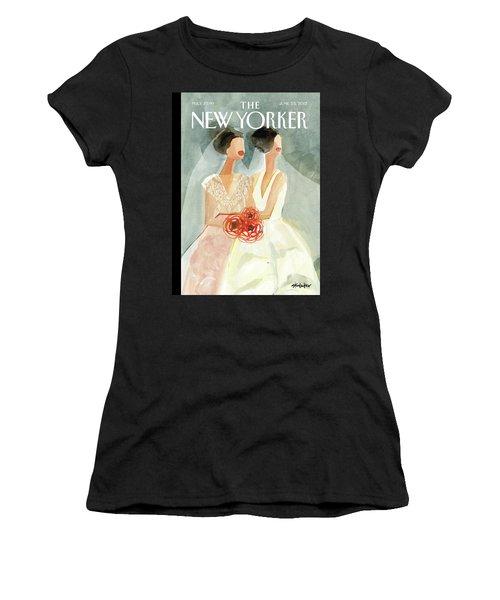June Brides Women's T-Shirt (Athletic Fit)