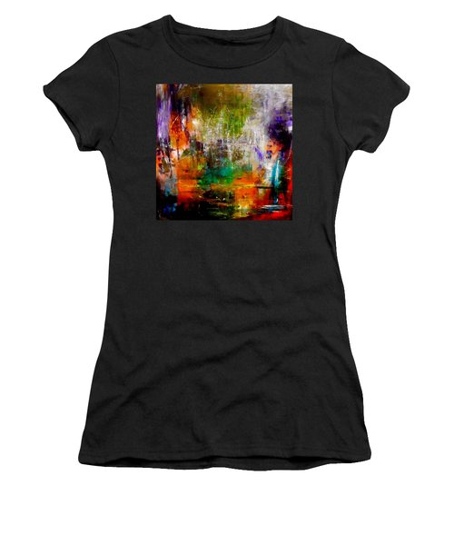 Reflecting Back Women's T-Shirt (Athletic Fit)