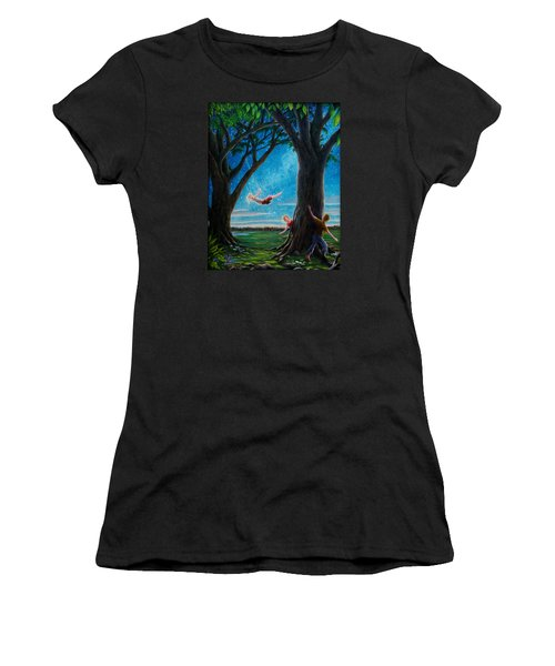 Innocence  Women's T-Shirt (Athletic Fit)