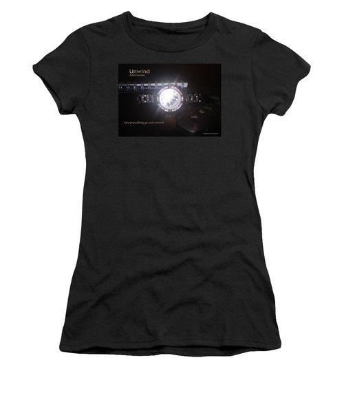Unwind - Let Go Women's T-Shirt (Athletic Fit)