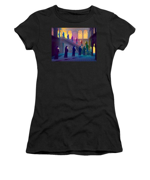 Uplifting Prayer Women's T-Shirt (Junior Cut) by Dave Luebbert