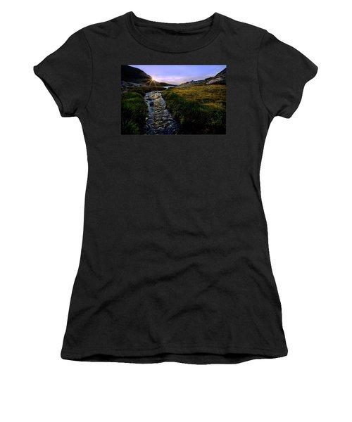 Upper Blue Sunrise Women's T-Shirt