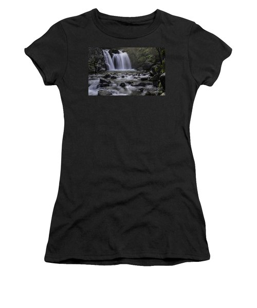 Upper Crystal Creek Falls  Women's T-Shirt