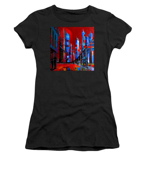 Urban Vision - City Of The Future Women's T-Shirt