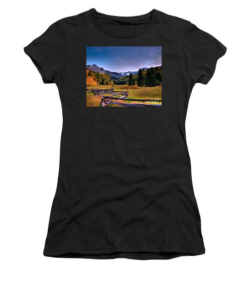 Valley Of Mt Sneffels Women's T-Shirt (Athletic Fit)