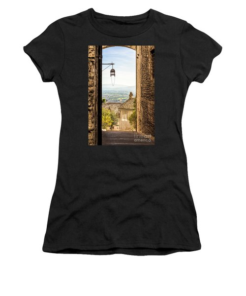 Valley Outside Assisi Women's T-Shirt