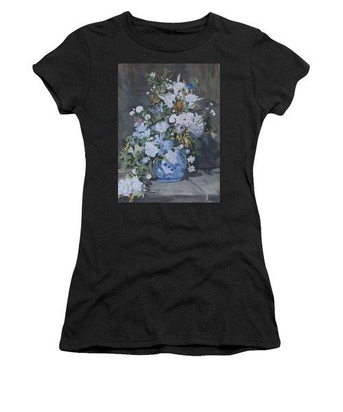 Vase Of Flowers - Reproduction Women's T-Shirt