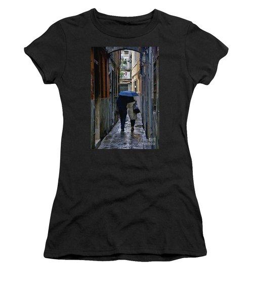 Venice In The Rain Women's T-Shirt