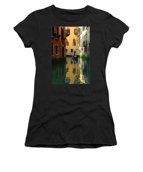 Venice Reflections Women's T-Shirt (Athletic Fit)
