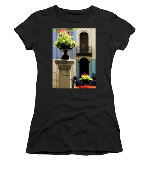 Victorian House Flowers Women's T-Shirt