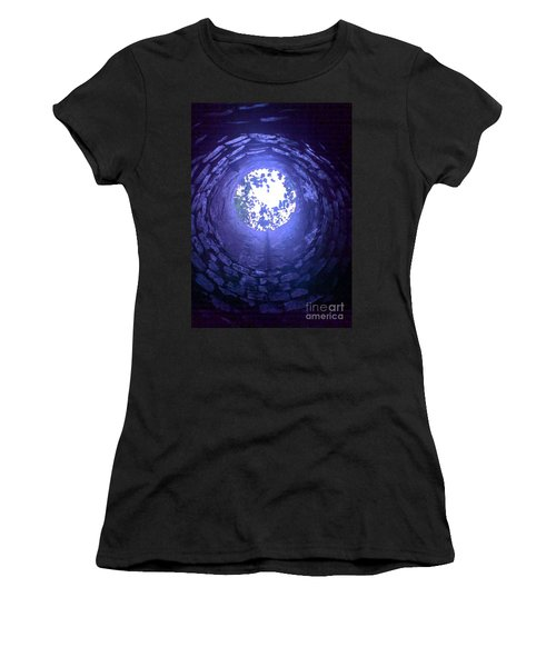 View From Below Women's T-Shirt (Athletic Fit)