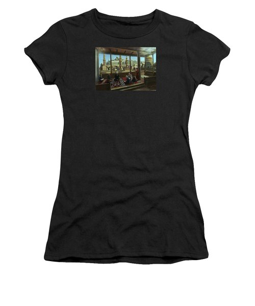 View From Egypt Women's T-Shirt (Junior Cut) by Laila Awad Jamaleldin