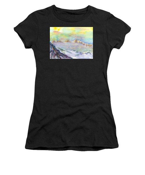View From Snowbird Women's T-Shirt