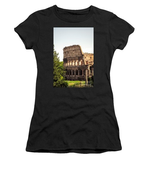 View Of Colosseum Women's T-Shirt