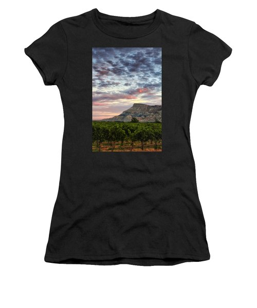 Vineyards And Mt Garfield Women's T-Shirt (Athletic Fit)