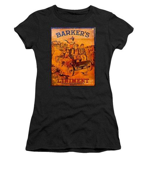 Vintage Ad Barker's Liniment Women's T-Shirt (Athletic Fit)