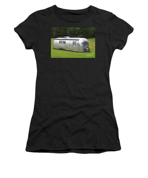 Vintage Airstream Trailer Women's T-Shirt