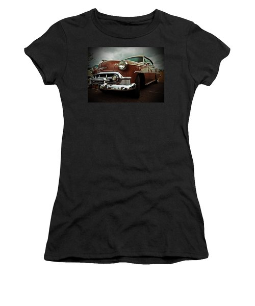Women's T-Shirt (Junior Cut) featuring the photograph Vintage Chrysler by Gianfranco Weiss