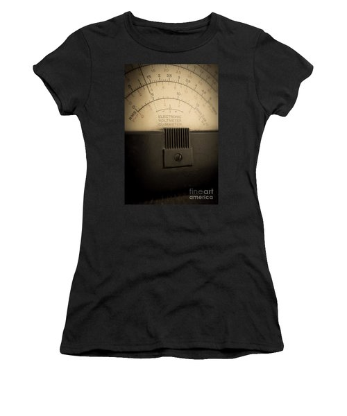 Vintage Electric Meter Women's T-Shirt