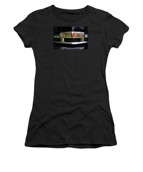 Vintage Ford Women's T-Shirt (Junior Cut) by Laurie Perry