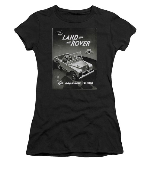 Vintage Land Rover Advert Women's T-Shirt