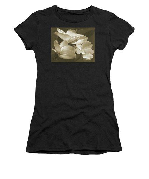 Vintage Plumeria Trio Women's T-Shirt