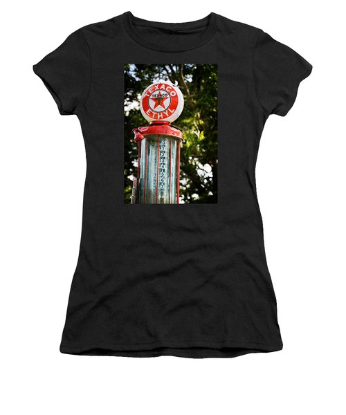Vintage Texaco Gas Pump Women's T-Shirt