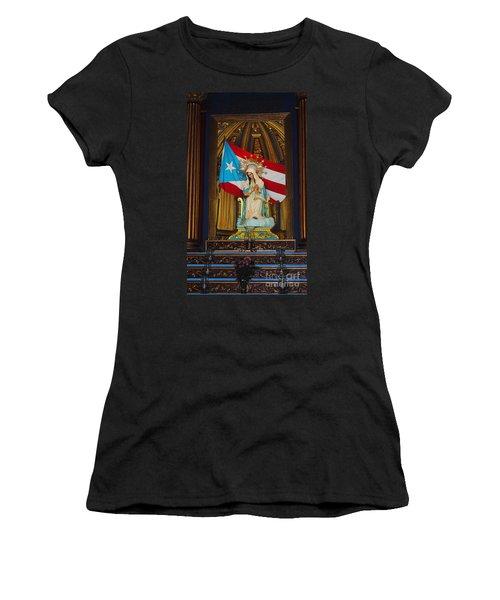Virgin Mary In Church Women's T-Shirt