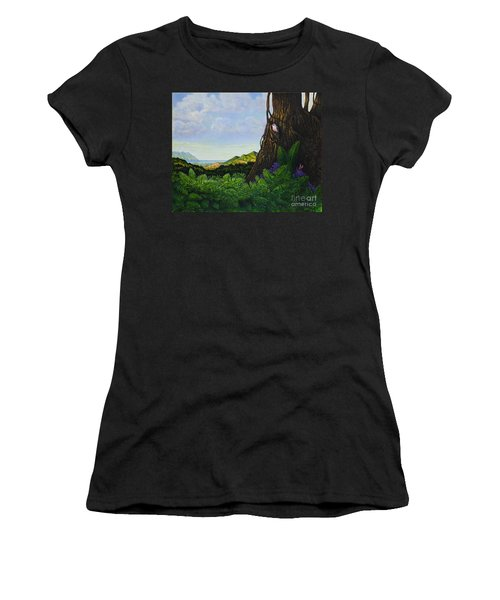 Visions Of Paradise V Women's T-Shirt (Athletic Fit)