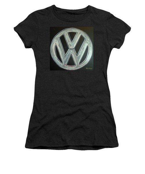 Vw Logo Chrome Women's T-Shirt