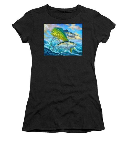 Wahoo Mahi Mahi And Tuna Women's T-Shirt