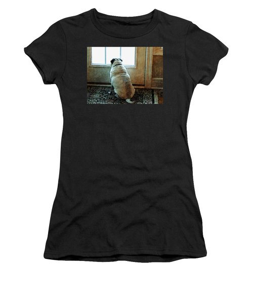 Waiting... Women's T-Shirt (Athletic Fit)