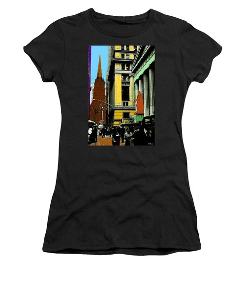 New York Pop Art 99 - Color Illustration Women's T-Shirt