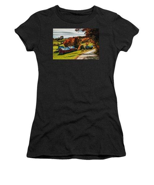 Wandering Down The Road Women's T-Shirt