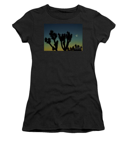 Women's T-Shirt (Junior Cut) featuring the photograph Waning by Angela J Wright