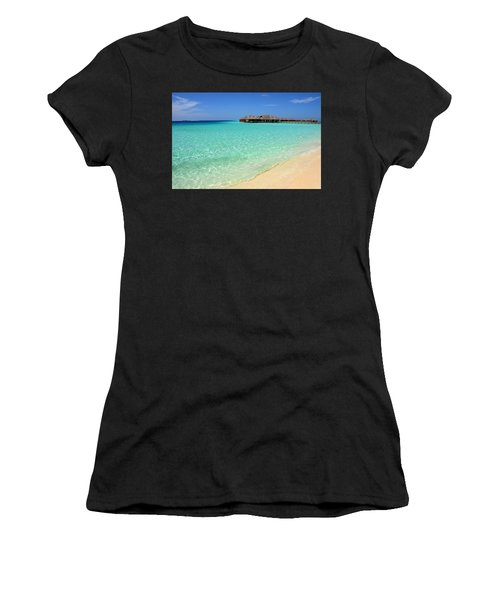 Warm Welcoming. Maldives Women's T-Shirt (Athletic Fit)