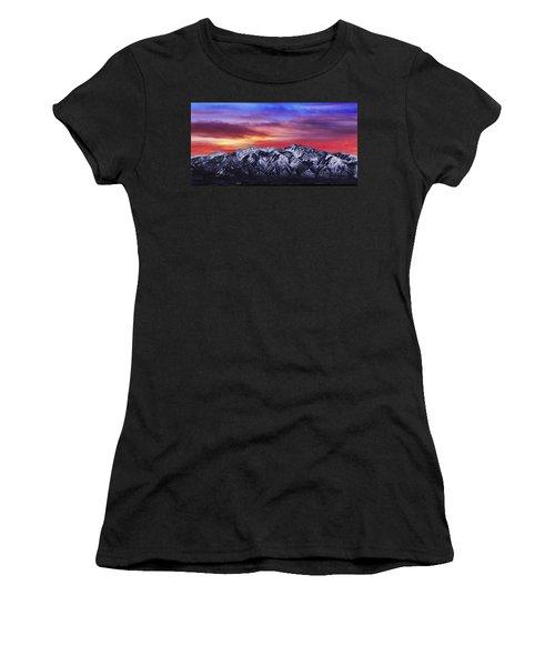 Wasatch Sunrise 2x1 Women's T-Shirt
