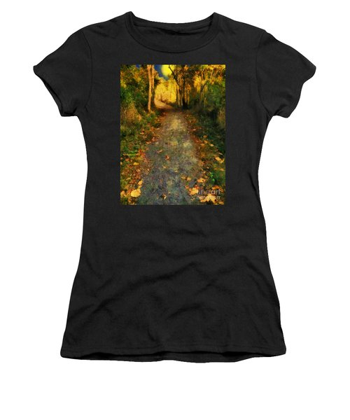 Washed In Gold Women's T-Shirt