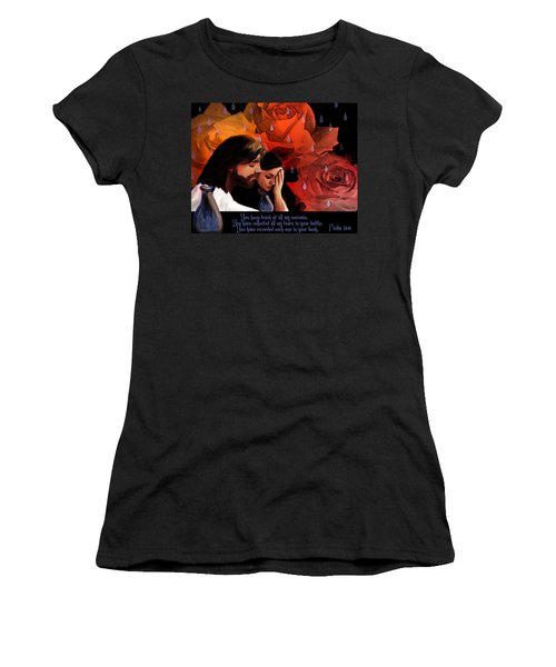 Washed In His Love Women's T-Shirt (Athletic Fit)