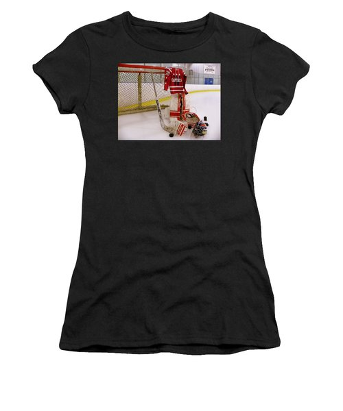 Washington Capitals Braden Holtby Winter Classic 2015 Jersey Women's T-Shirt