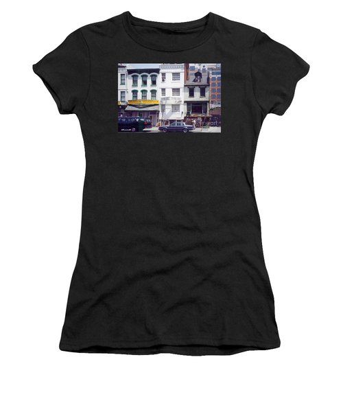 Washington Chinatown In The 1980s Women's T-Shirt (Athletic Fit)