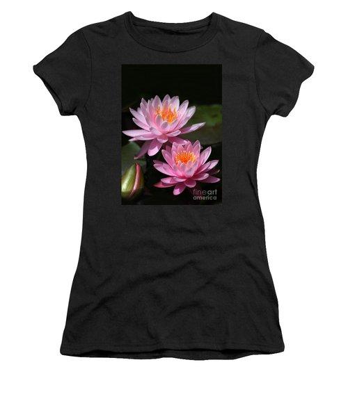 Water Lilies Love The Sun Women's T-Shirt