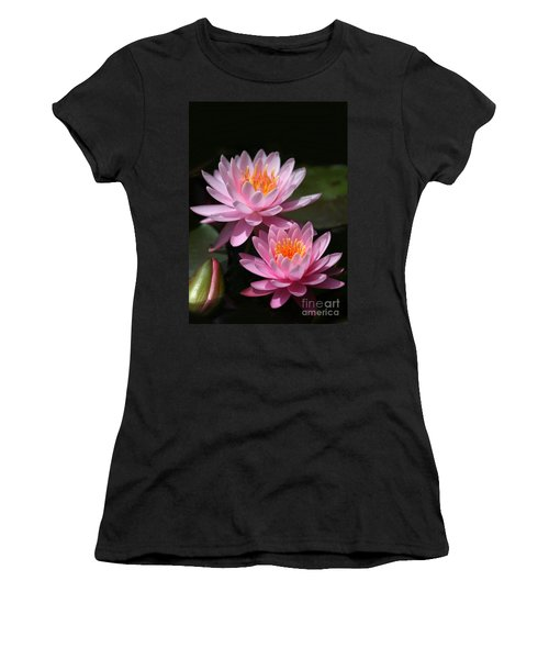 Water Lilies Love The Sun Women's T-Shirt (Athletic Fit)