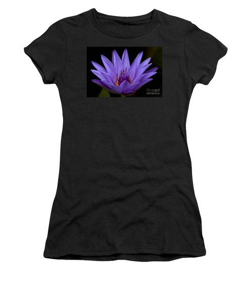 Women's T-Shirt (Junior Cut) featuring the photograph Water Lily Photo by Meg Rousher