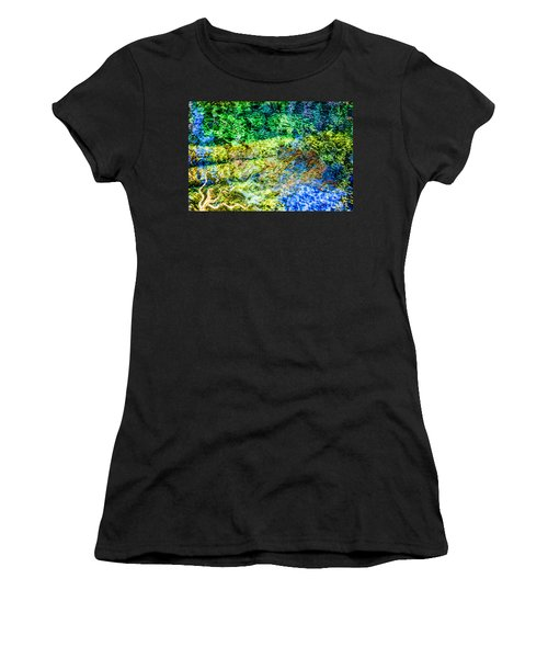 Water Tree Reflections Women's T-Shirt (Athletic Fit)
