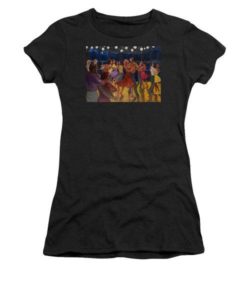 Water Waltz Women's T-Shirt (Athletic Fit)