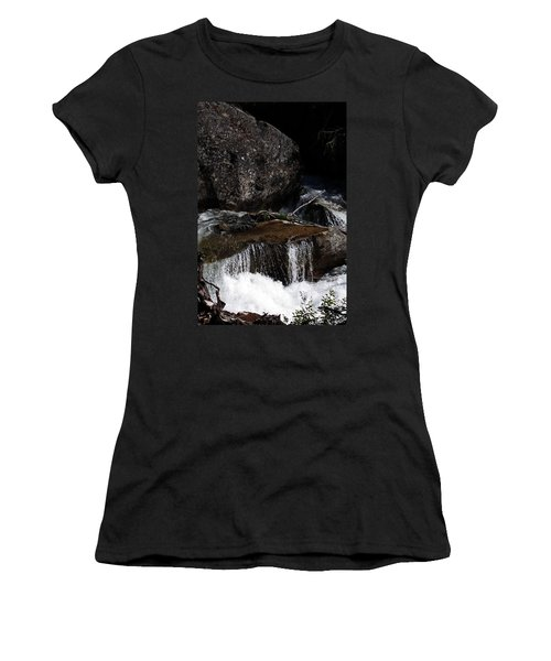 Water's Flow Women's T-Shirt (Athletic Fit)