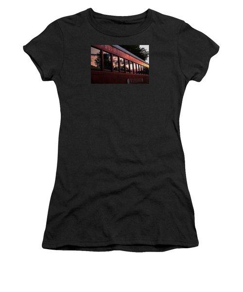 Waukewan Train Women's T-Shirt (Athletic Fit)